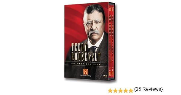 Amazon.com: Teddy Roosevelt - An American Lion: Richard Dreyfuss: Movies & TV