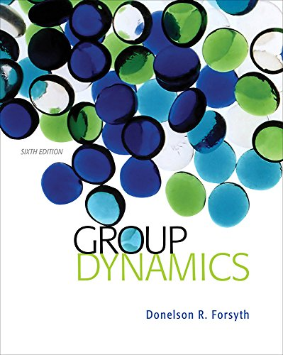 Group Dynamics (MindTap Course List)