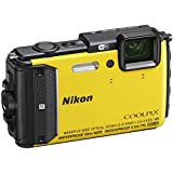 Nikon COOLPIX AW130 Waterproof Digital Camera with Built-In Wi-Fi (Yellow)(Certified Refurbished)