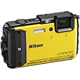 Nikon COOLPIX AW130 Waterproof Digital Camera with Built-In Wi-Fi (Yellow)(Certified Refurbished)