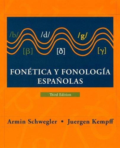 Fone?tica y fonologi?a espanolas