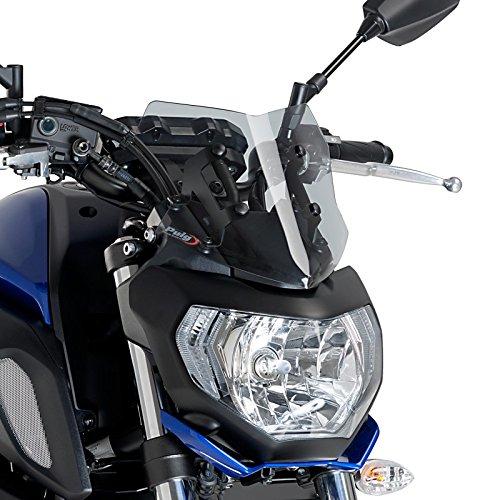 Cockpitverkleidung Sport Yamaha MT-07 18-19 rauchgrau Puig 9666h