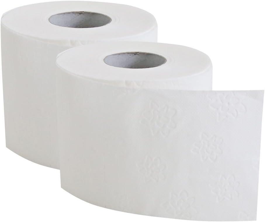 72 Rollen Toilettenpapier 4 lagig 150 Blatt Premium GRATIS WC Papier Spender