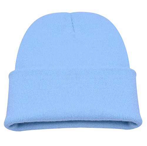 PZLE Blue Beanie Knit Beanie Baby Boy Beanie Men Beanie Stocking Cap Baby Blue