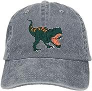 Waldeal Boy Printing Dinosaur Baseball Caps Cute Vintage Adjustable Kids Dad Hats for 3-12 Years