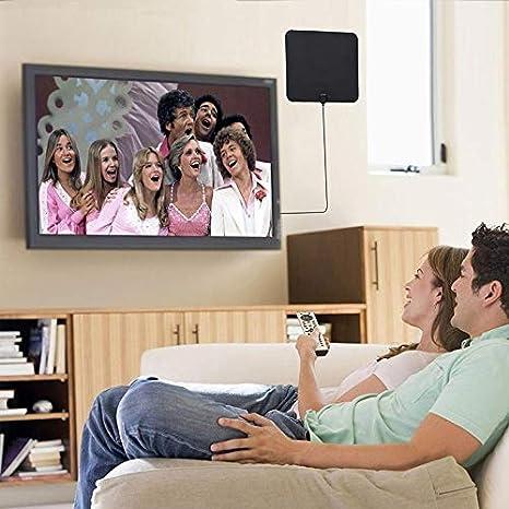 HD Digital TV Antenne leegoal 120 Meilen Lange Strecke Indoor HDTV-Antennen mit Verst/ärker und 13,2 ft Koax-Kabel unterst/ützt 4k hd VHF uhf dvb-t f/ür Leben lokale Sender ausgestrahlt