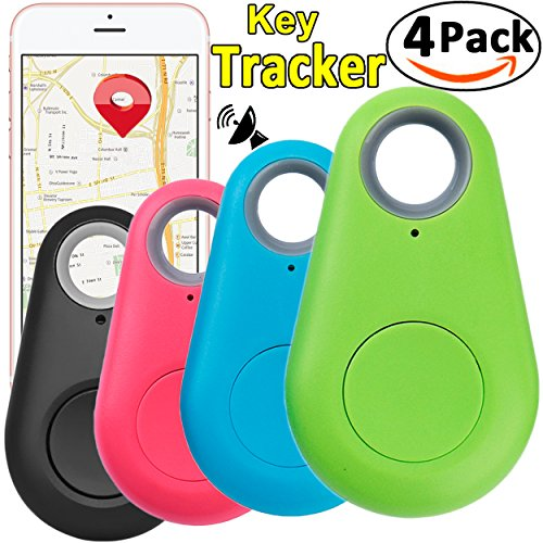 cker Key Finder Locator Wireless Anti Lost Alarm Sensor Device for Kids Dogs Car Wallet Pets Cats Motorcycles Luggage Remote Camera Smart Phone iOS Android by JingStyle ()