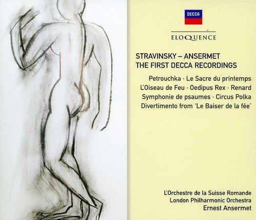 CD : Ernest Ansermet - Stravinsky - Ansermet: First Decca Recordings (Australia - Import, 4 Disc)