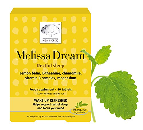 UPC 784922464774, New Nordic Manufacturing Melissa Dream Natural Supplement (40 Tablets)