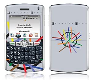 Zing Revolution MS-DEPE10067 BlackBerry 8800 Series- 8800-8820-8830- Depeche Mode- Sounds Of The Universe Skin