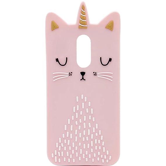 more photos 45fdf 9a9b1 LG Aristo 2 Silicone case, Anya 3D Cartoon Unicorn Cat Soft Silicone Rubber  Cool Fun Cute Fashion Hot Case for LG Aristo/LG Rebel 3 LTE/LG Phoenix ...