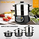 Secura Electric Food Steamer, Vegetable Double