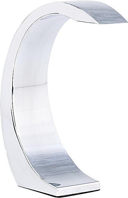 Lámpara led de Mesa de Lunartec:Lámpara de Mesa «Silver Moon» con ...
