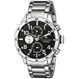 Tommy Hilfiger Men's 1791141 Cool Sport Analog Display Quartz Silver Watch