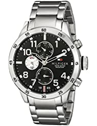 Tommy Hilfiger Mens 1791141 Cool Sport Analog Display Quartz Silver Watch