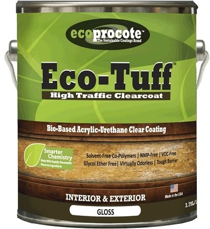 Eco-Tuff ET-6800 High Traffic Clear Coat Gloss 1 Gal