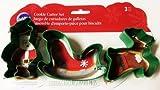 Christmas Cookie Cutter Sleigh 3 Piece Set