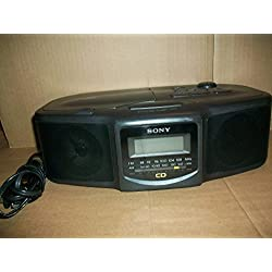 Sony FM/AM CD Clock Radio ICF-CD800