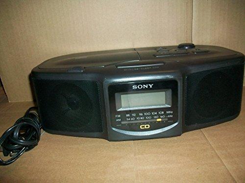 Sony FM/AM CD Clock Radio ICF-CD800
