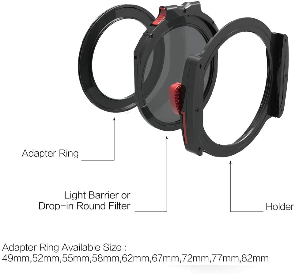 M10 Filterhouder 77mm Basic Kit