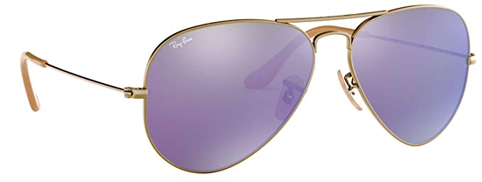 7a86d7902b Image Unavailable. Image not available for. Color  Ray-Ban RB3025 167 1M Sunglasses  Bronze-Copper Frame   Violet ...