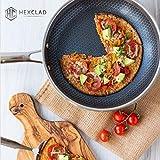 HexClad Hybrid Non-Stick Cookware | 7 Piece Set
