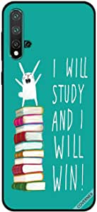 For Huawei Nova 5 Case I Will Study And I Will Win