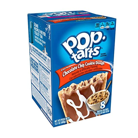 Kellogg's Pop Tarts Frosted Chocolate Chip Cookie Dough (400 g)