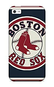 For Iphone 5c Tpu Phone Case Cover(boston Red Sox )