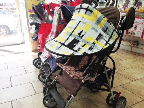 Manito Sun Shade for Strollers and Car Seats - Black (7 Available Colors) by Manito (Image #8)
