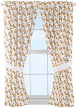 NCAA USC Trojans Mascot Window Curtain Panels Set of 2-36 x 48