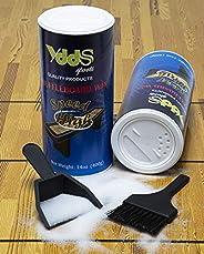 Shuffleboard Sand - Powder Wax w/Mini Dustpan and Broom Set, 2 Cans