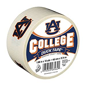 Duck Brand 240262 Auburn University College Logo Duct Tape, 1.88-Inch by 10 Yards, Single Roll