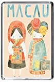 C206 MACAU FRIDGE MAGNET CHINA VINTAGE TRAVEL PHOTO REFRIGERATOR MAGNET