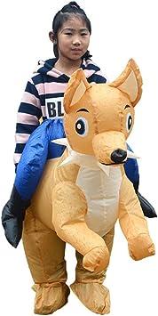 Disfraces inflables Disfraz de dibujos animados inflable for niños ...
