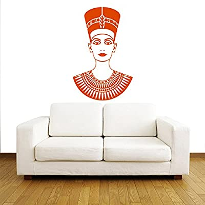 Wall Decals People Travel Countries Nefertiti Ancient Egypt Pharaoh Egyptian Queen History Any Room Vinyl Decal Sticker Home Decor ML147
