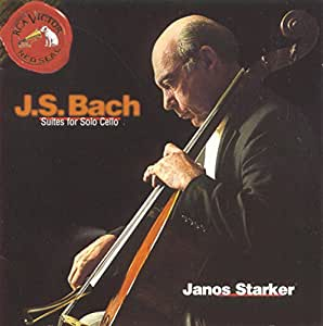 Johann Sebastian Bach Janos Starker Suites For Solo