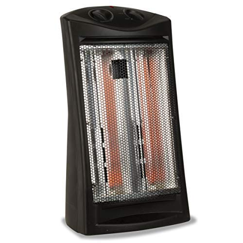 BLACK+DECKER BHTI06 Infrared Quartz Tower Heater, One Size, Black