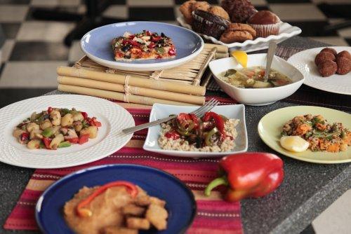 The Vegan Garden   Table For Two   12 Vegan Meals