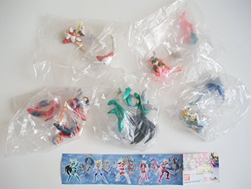 5 Saint Seiya Gashapon Capsule Figure Set ~Japan Bandai~