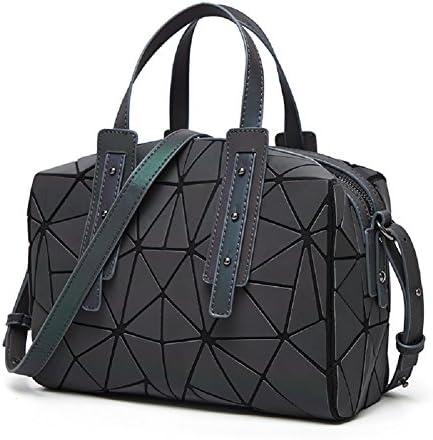 Geometric Diamond Messenger Bag Personalized