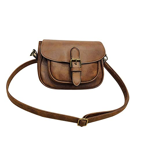 e916f81d4dcc Amazon.com: xiniu Women Leather Shoulder Bag Messenger Satchel Tote ...