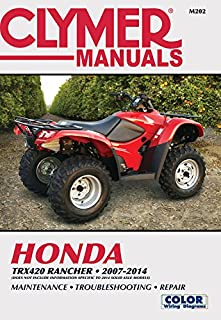 honda rancher recon trx250ex atv s 2000 2009 owners workshop rh amazon com 2013 Honda 250 ATV Honda 250 Ex