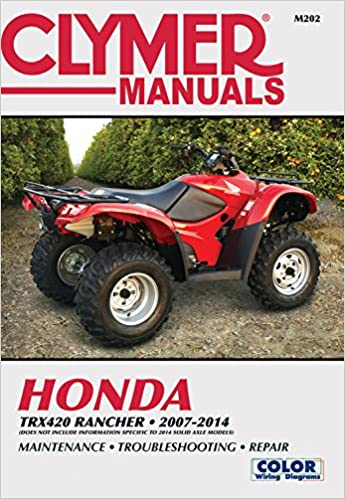 !!ZIP!! Honda TRX420 Rancher 2007-2014: Does Not Include Information Specific To 2014 Solid Axle Models (Clymer Motorcycle). Official typical usuarios donde Night targeted pierde 51A3OyQCReL._SX343_BO1,204,203,200_