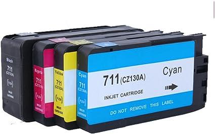 Teng® - Cartuchos de Tinta para HP Designjet T120 24 T120 610 T520 ...