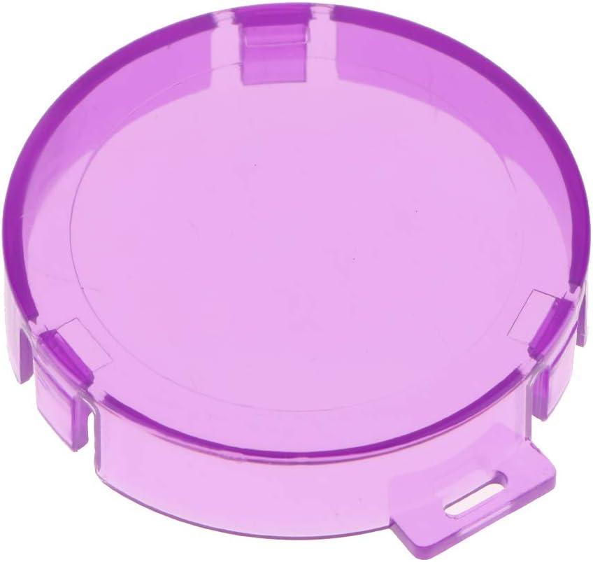 SM SunniMix Protective Dive Shell Underwater Diving Housing Waterproof Case 30M Depth for AKASO EK7000 Purple