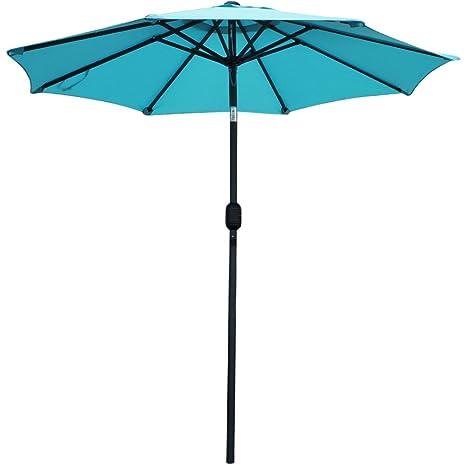 snail 72 ft aluminum patio umbrella sunshade uv water resistant small table deck umbrella outdoor market - Small Patio Umbrella