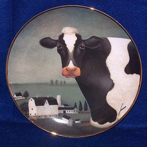 - Cow Country Lowell Herrero The American Folk Art Collection Fine Porcelain Decorative Plate