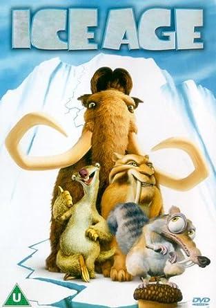 póster de la película de animación infantil Ice age 1
