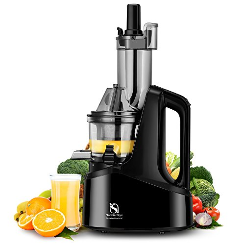 Natalie Styx Juicer Slow Masticating Juicer Extractor, 3